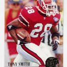 1994 Ultra Football #339 Tony Smith - Atlanta Falcons