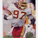 1994 Ultra Football #317 Sterling Palmer RC - Washington Redskins