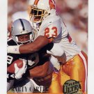 1994 Ultra Football #297 Marty Carter - Tampa Bay Buccaneers
