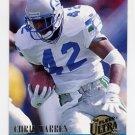 1994 Ultra Football #296 Chris Warren - Seattle Seahawks