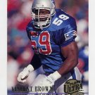 1994 Ultra Football #198 Vincent Brown - New England Patriots