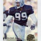 1994 Ultra Football #156 Winston Moss - Los Angeles Raiders