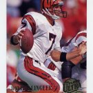 1994 Ultra Football #047 David Klingler - Cincinnati Bengals