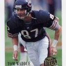 1994 Ultra Football #041 Tom Waddle - Chicago Bears