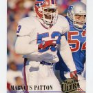 1994 Ultra Football #028 Marvcus Patton - Buffalo Bills