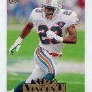 1995 Ultra Football #182 Troy Vincent - Miami Dolphins