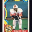 1989 Topps Football 1000 Yard Club #20 Bruce Hill - Tampa Bay Buccaneers