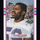 1989 Topps Football #393 Garry Cobb - Dallas Cowboys Ex