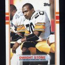 1989 Topps Football #320 Dwight Stone - Pittsburgh Steelers