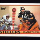 1989 Topps Football #314 The Pittsburgh Steelers Team NM-M