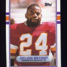 1989 Topps Football #261 Kelvin Bryant - Washington Redskins