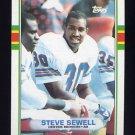1989 Topps Football #246 Steve Sewell RC - Denver Broncos NM-M
