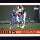 1989 Topps Football #205 The Indianapolis Colts Team