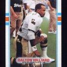 1989 Topps Football #157 Dalton Hilliard - New Orleans Saints ExMt