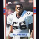 1989 Topps Football #154 Pat Swilling - New Orleans Saints