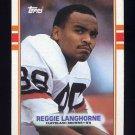 1989 Topps Football #144 Reggie Langhorne RC - Cleveland Browns