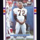 1989 Topps Football #142 Charles Buchanan - Cleveland Browns