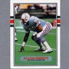 1989 Topps Football #105 Allen Pinkett RC - Houston Oilers Ex