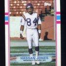 1989 Topps Football #078 Hassan Jones RC - Minnesota Vikings