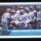 1990 Topps Football #518 The Detroit Lions Team Leaders