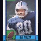 1990 Topps Football #483 Ray Horton - Dallas Cowboys