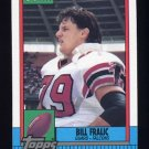 1990 Topps Football #478 Bill Fralic - Atlanta Falcons