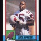 1990 Topps Football #445 David Galloway - Phoenix Cardinals