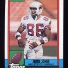 1990 Topps Football #440 Ernie Jones RC - Phoenix Cardinals