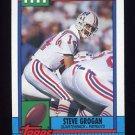 1990 Topps Football #418 Steve Grogan - New England Patriots NM-M