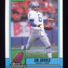 1990 Topps Football #363 Jim Arnold - Detroit Lions