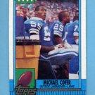 1990 Topps Football #362 Michael Cofer - Detroit Lions Vg