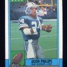 1990 Topps Football #359 Jason Phillips - Detroit Lions