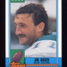 1990 Topps Football #333 Jim Jensen - Miami Dolphins