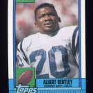 1990 Topps Football #310 Albert Bentley - Indianapolis Colts