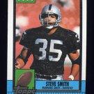 1990 Topps Football #283 Steve Smith - Los Angeles Raiders