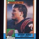 1990 Topps Football #278 Anthony Munoz - Cincinnati Bengals