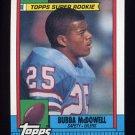 1990 Topps Football #213 Bubba McDowell - Houston Oilers