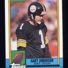 1990 Topps Football #182 Gary Anderson - Pittsburgh Steelers