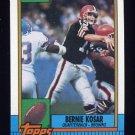 1990 Topps Football #163 Bernie Kosar - Cleveland Browns