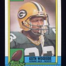 1990 Topps Football #147 Keith Woodside - Green Bay Packers