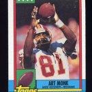 1990 Topps Football #126 Art Monk - Washington Redskins