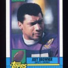 1990 Topps Football #111 Joey Browner - Minnesota Vikings