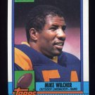 1990 Topps Football #080 Mike Wilcher - Los Angeles Rams NM-M