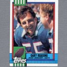 1990 Topps Football #062 Gary Reasons - New York Giants Ex