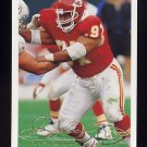 1994 Fleer Football #227 Dan Saleaumua - Kansas City Chiefs