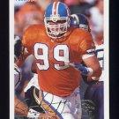 1994 Fleer Football #133 Shane Dronett - Denver Broncos
