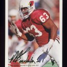 1994 Fleer Football #001 Michael Bankston - Arizona Cardinals