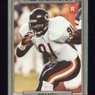 1990 Action Packed Rookie Update Football #42 Fred Washington RC - Chicago Bears
