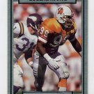 1990 Action Packed Football #266 Eugene Marve - Tampa Bay Buccaneers