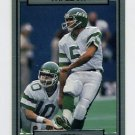 1990 Action Packed Football #195 Pat Leahy - New York Jets